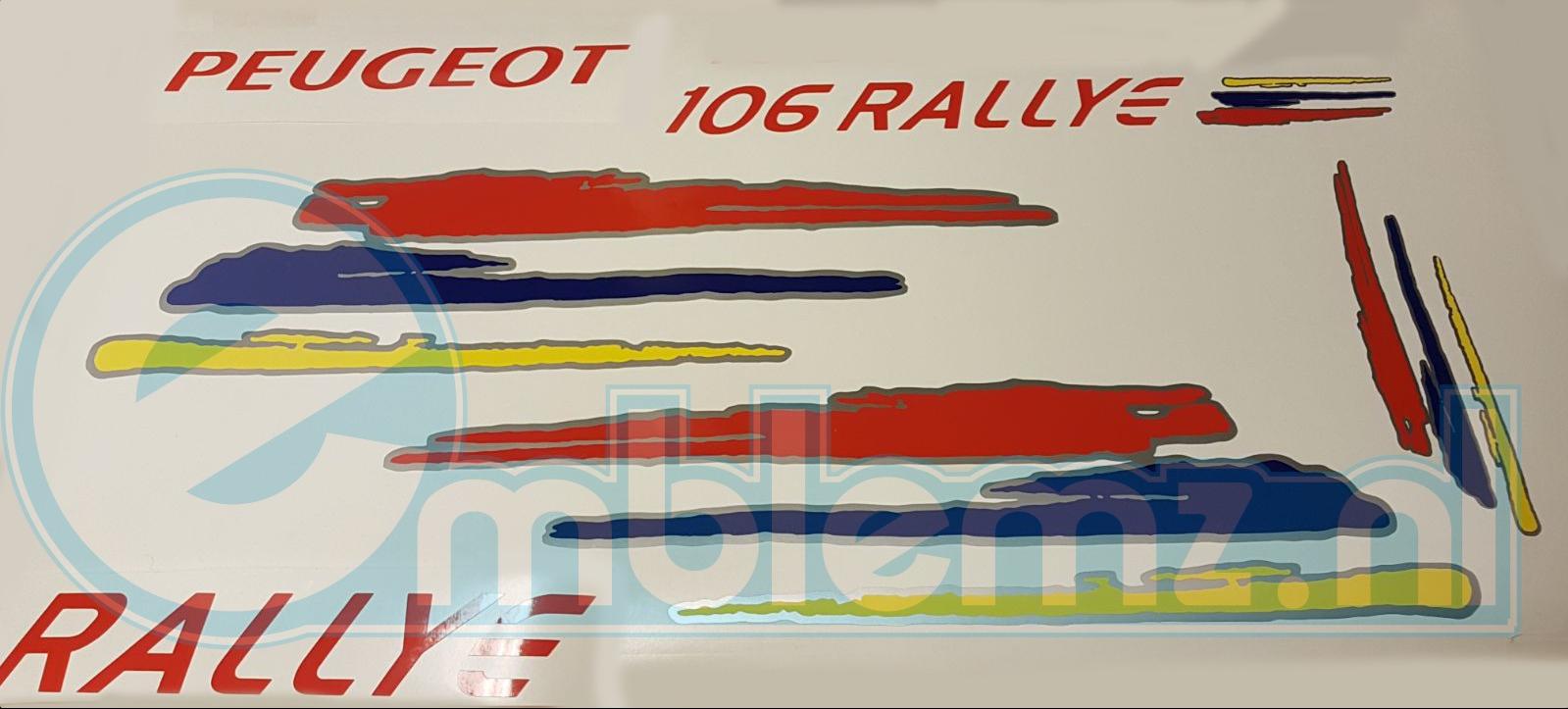Peugeot 106/306 Rallye Graphics